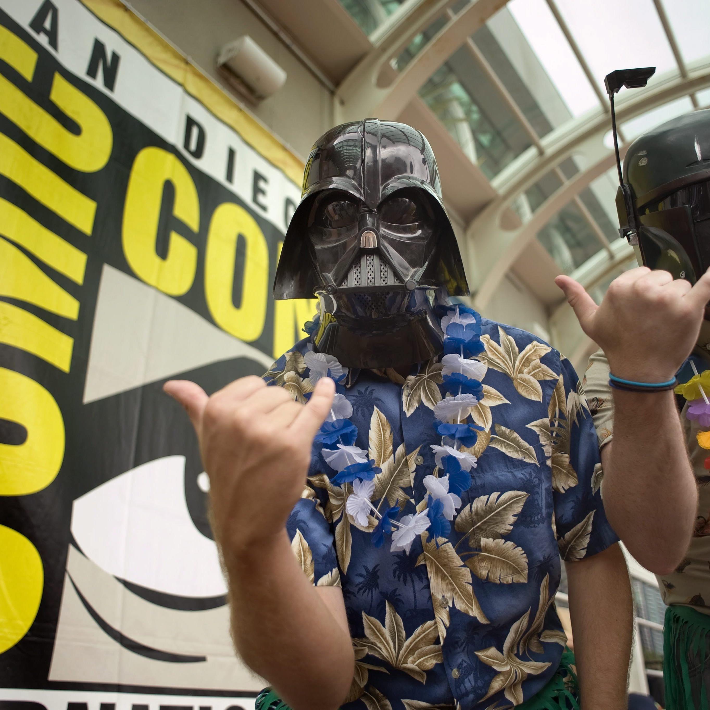 Am Donnerstag wurde die Comic Con in San Diego eröffnet.