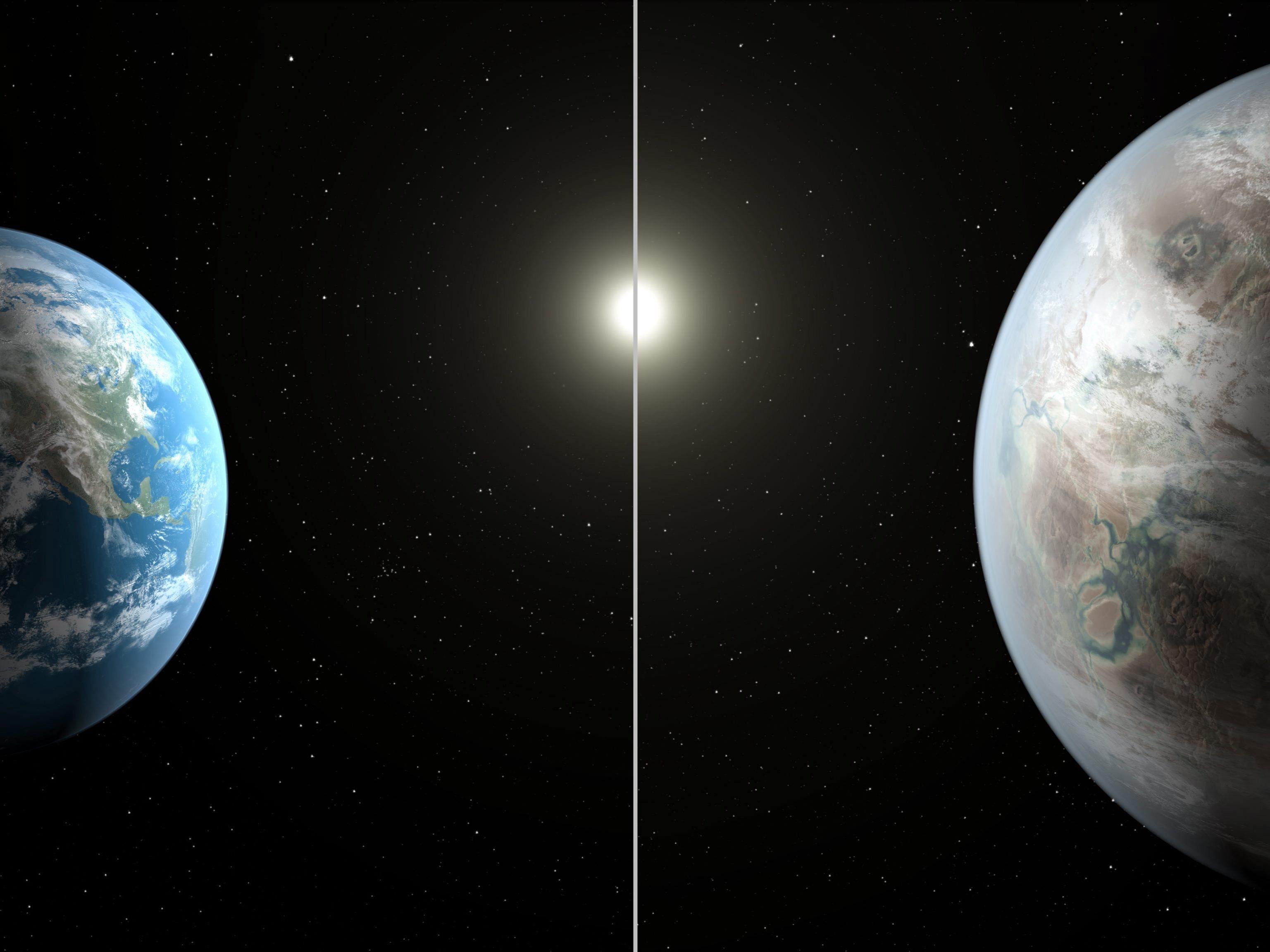"""NASA-Wissenschaftler entdeckten """"Cousin"""" der Erde."""