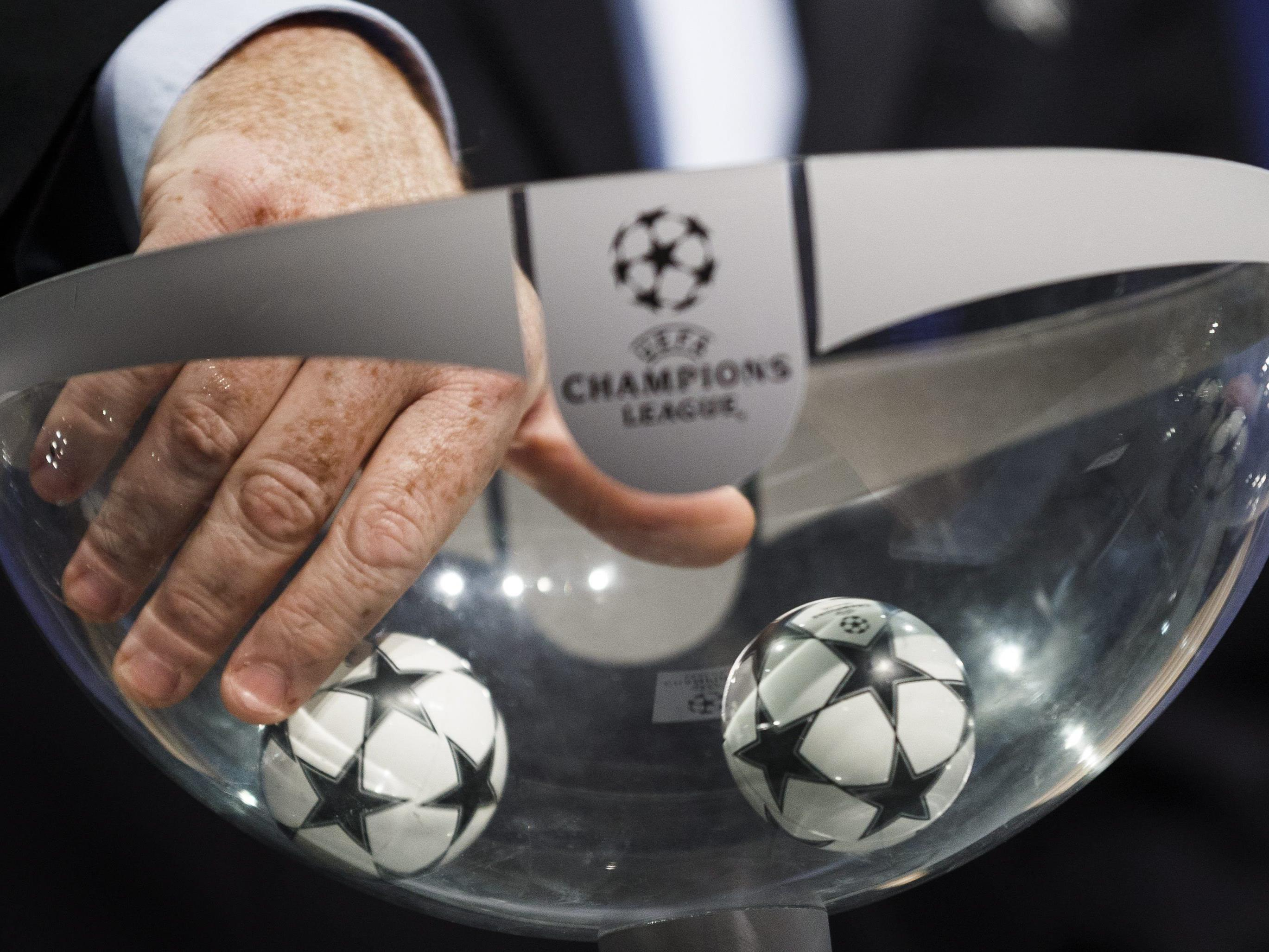 LIVE von der Auslosung der Champions League und Europa League.
