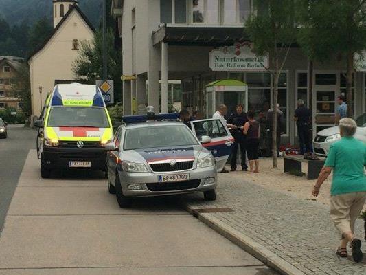 Polizeieinsatz in Alberschwende.
