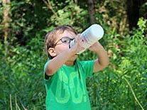 Wichtig bei großer Hitze: viel Wasser trinken!