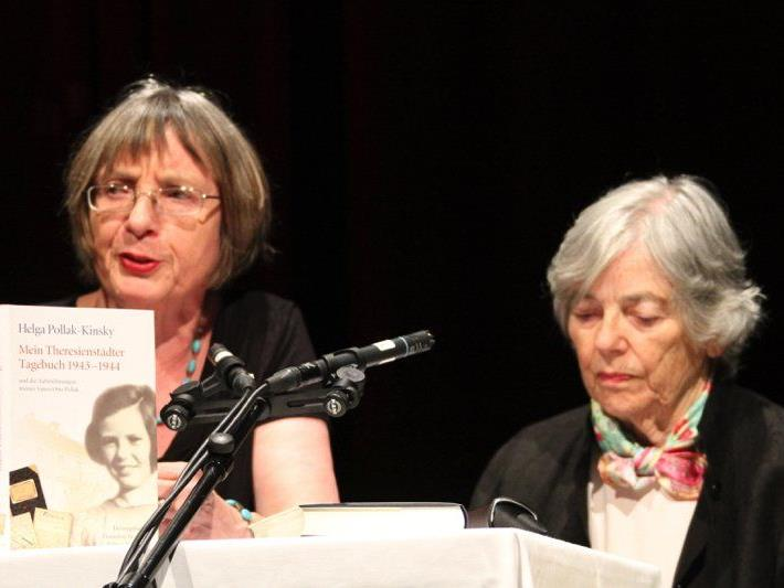 Herausgeberin Hannelore Brenner und Zeitzeugin Helga Kinsky-Pollak im Gespräch über eine Zeit, die nie vergessen werden darf.