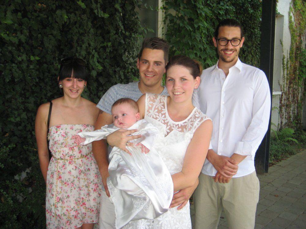 Noa Manfred Kleinheinz wurde getauft.