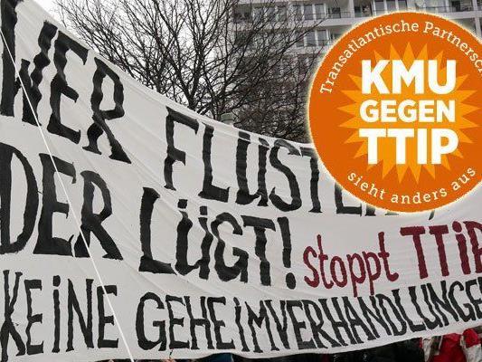 Eine österreichische KMU-Initiative sammelt Stimmen gegen TTIP.