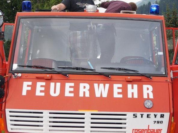 4200km in einem 41 Jahre alten Feuerwehrauto.