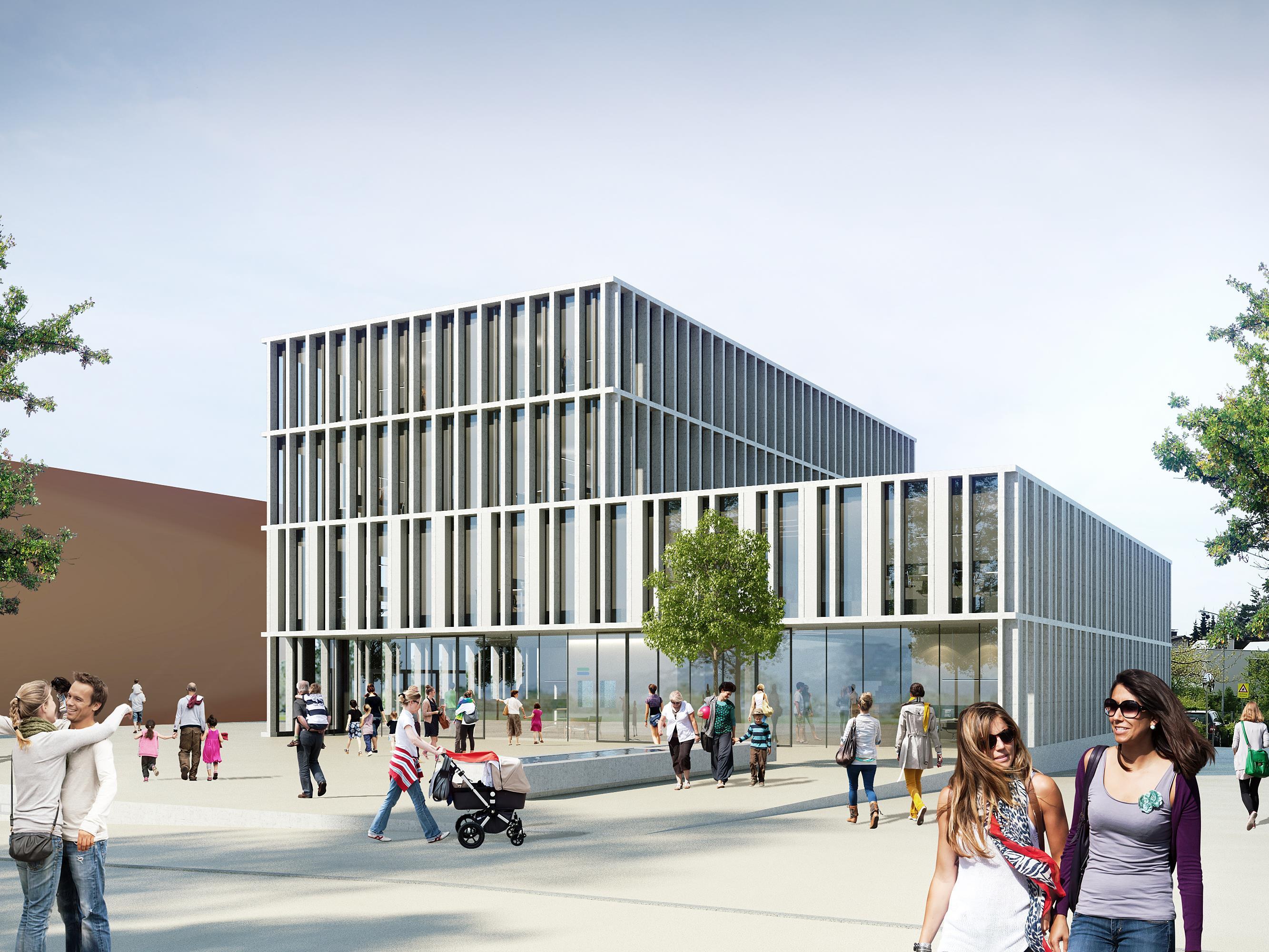 """Das in die Jahre gekommene Lochauer Gemeindeamt soll durch ein attraktives und funktionelles """"Gemeinschaftshaus der Zukunft"""" ersetzt werden."""