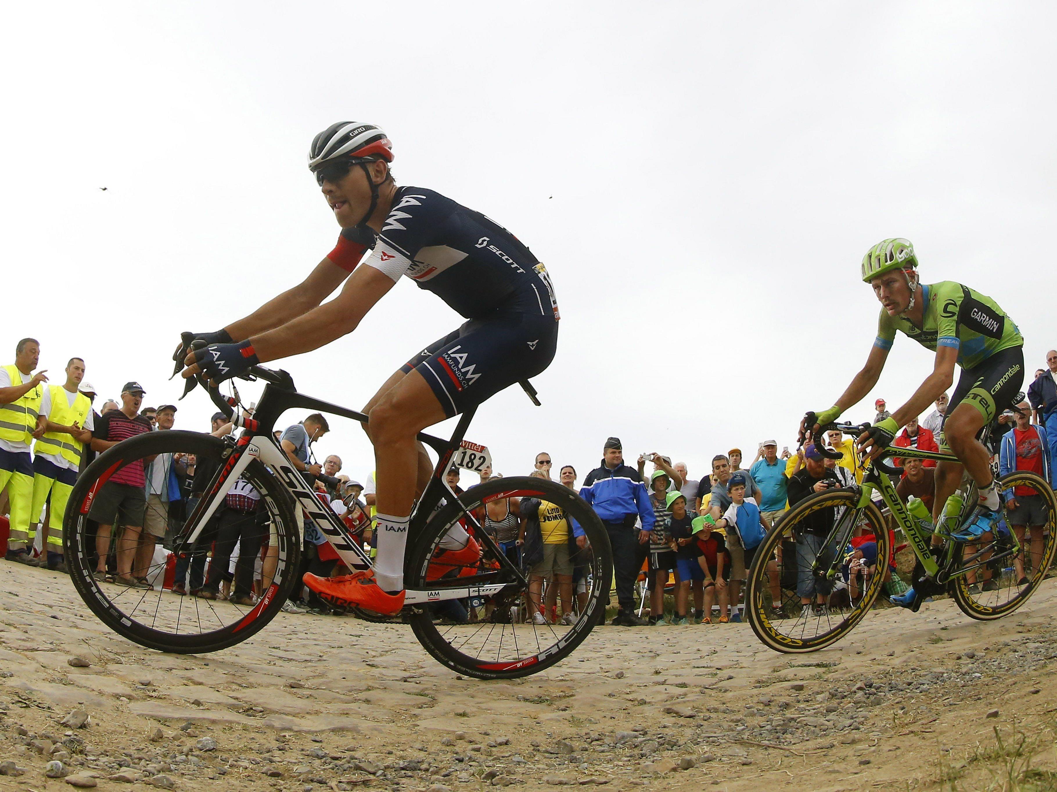 Der 25-jährige Hohenemser Mathias Brändle verbuchte schon zwei Topplätze bei der Tour de France.