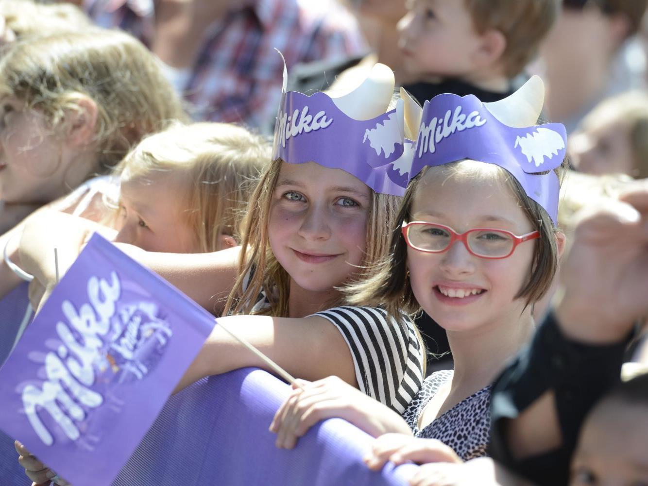 Das Milka-Schoko - Fest