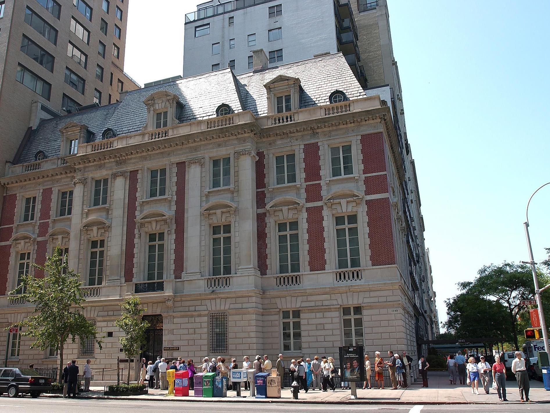 Die Neue Galerie an der Fifth Avenue