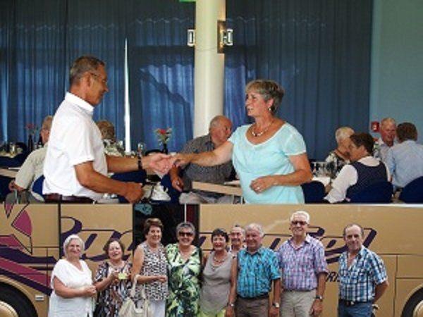 Tanzfahrt nach Bad Wurzach des Pensionistenverband Vorderwald und Rheindelta