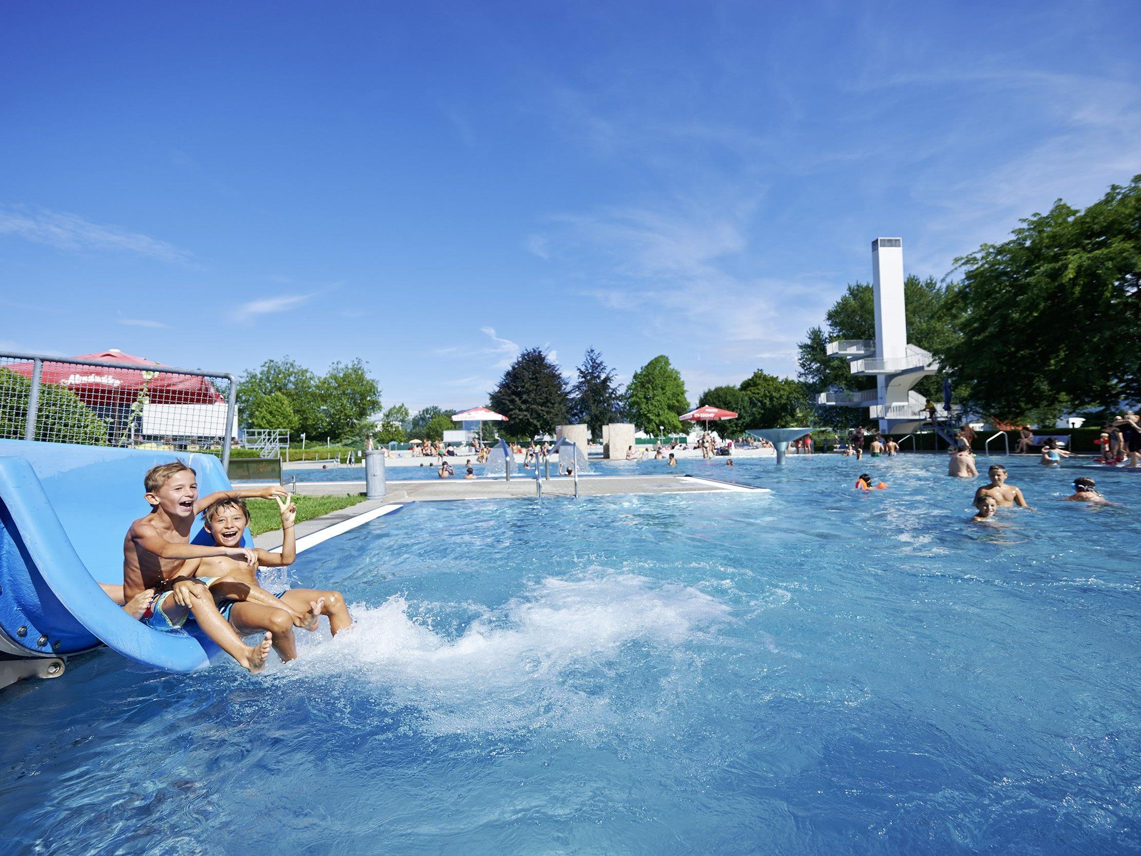 Das Parkbad Lustenau feiert 50jähriges Jubiläum.