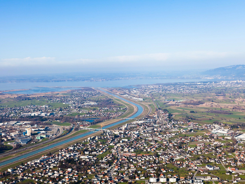 Bereits ab August 2015 werden am Rhein im Bereich Höchst, Fußach und Hard Maßnahmen gesetzt.