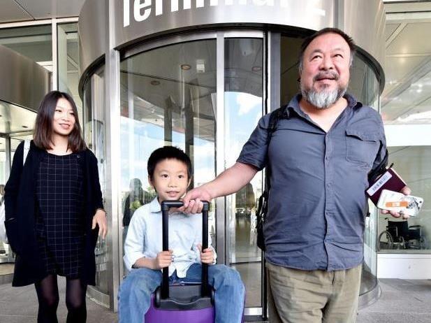 Ai Weiwei ist in Deutschland angekommen.