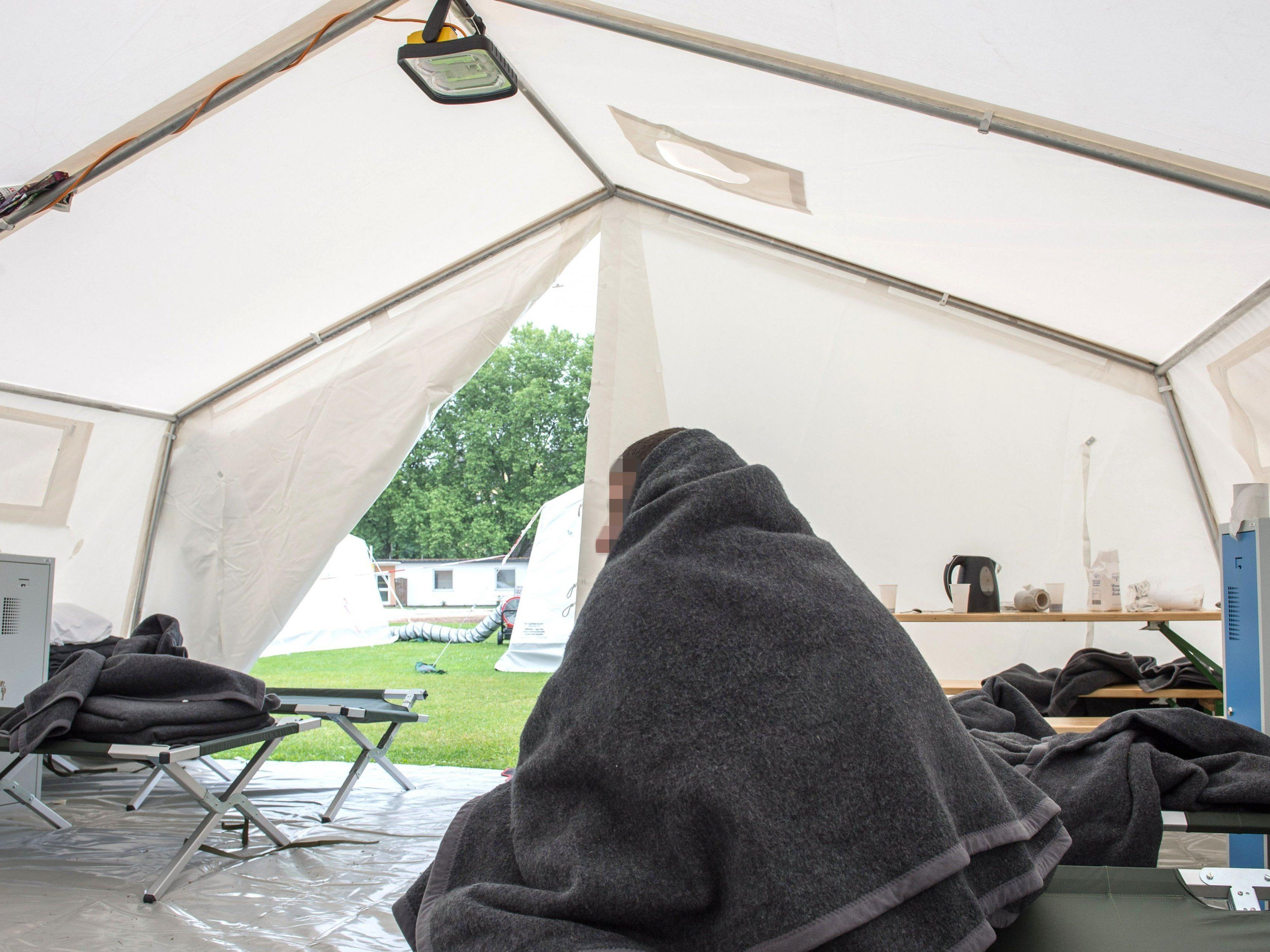 Asyl: Änderungen im Vorarlberger Baugesetz sollen Zelte und Container vermeiden helfen.