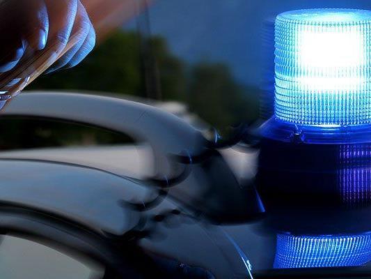 Bei einem der Verdächtigen wurde ein Blaulicht sichergestellt.