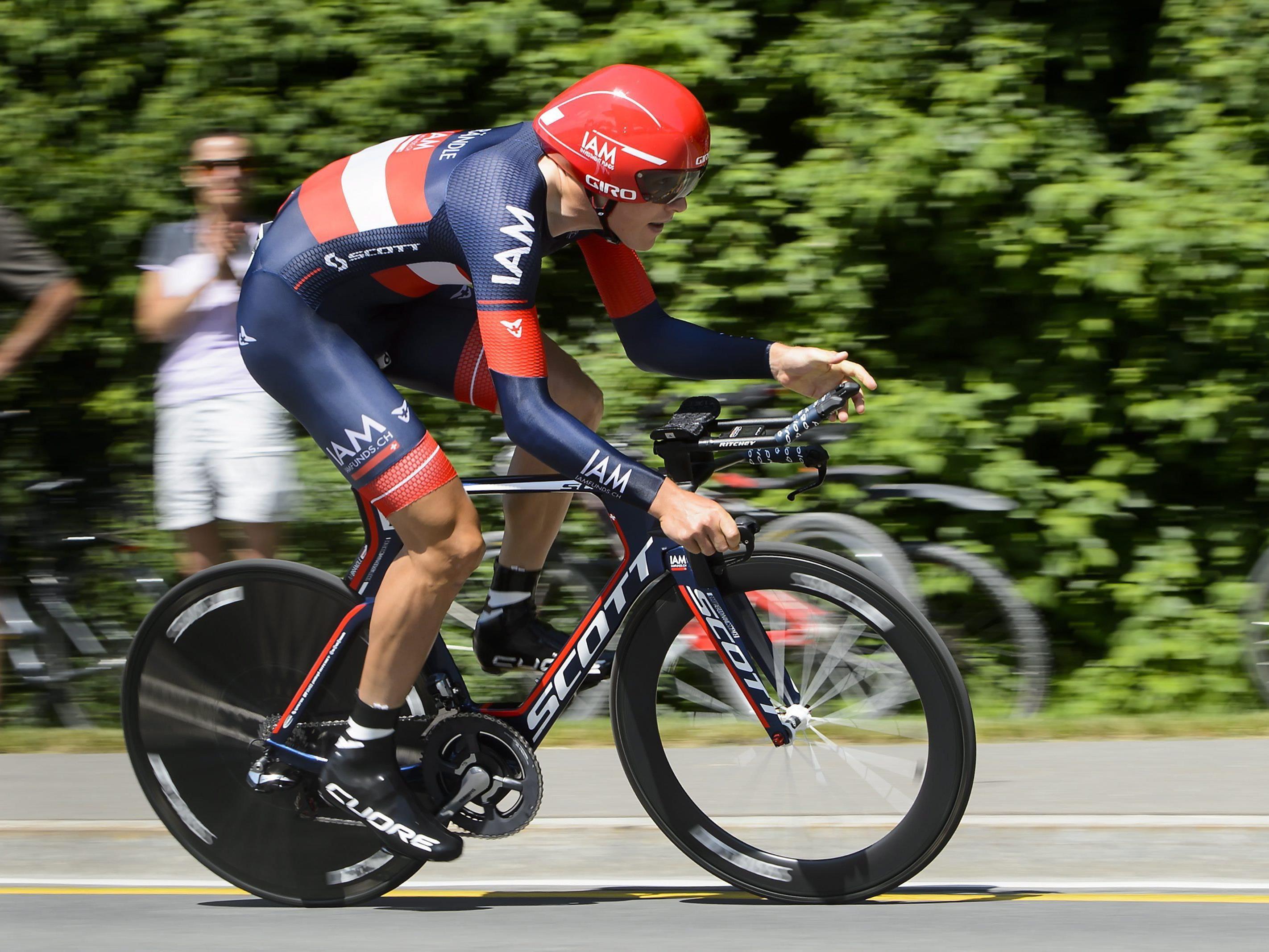 """Den Hohenemser Brändle reizt die """"dünne Luft"""" bei der Tour - und meint damit das Top-Niveau der Konkurrenz."""