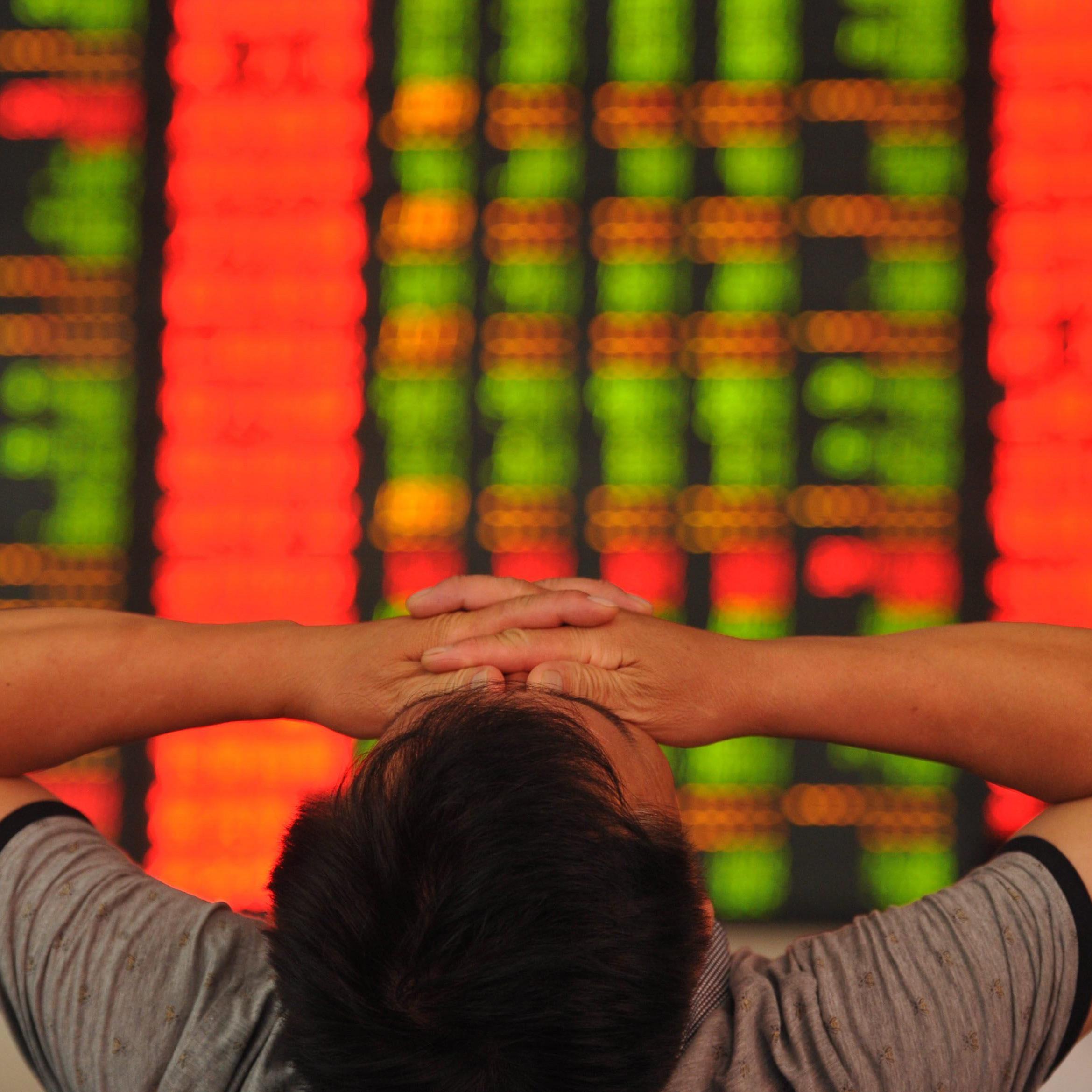 Shanghaier Börse fällt binnen drei Wochen um rund ein Drittel.