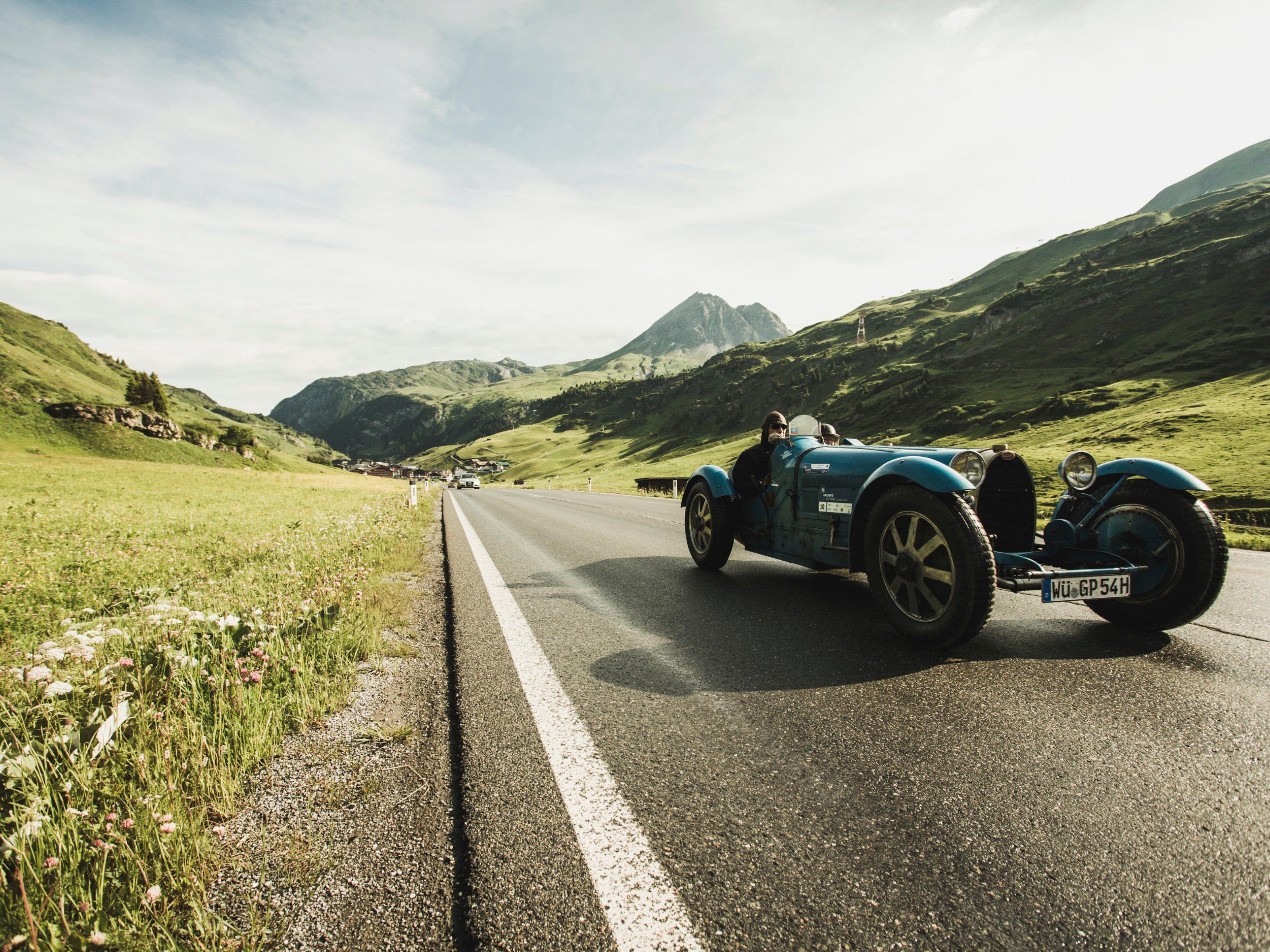 Traumautos, Traumkulissen: Arlberg Classic Car Rally 2015.