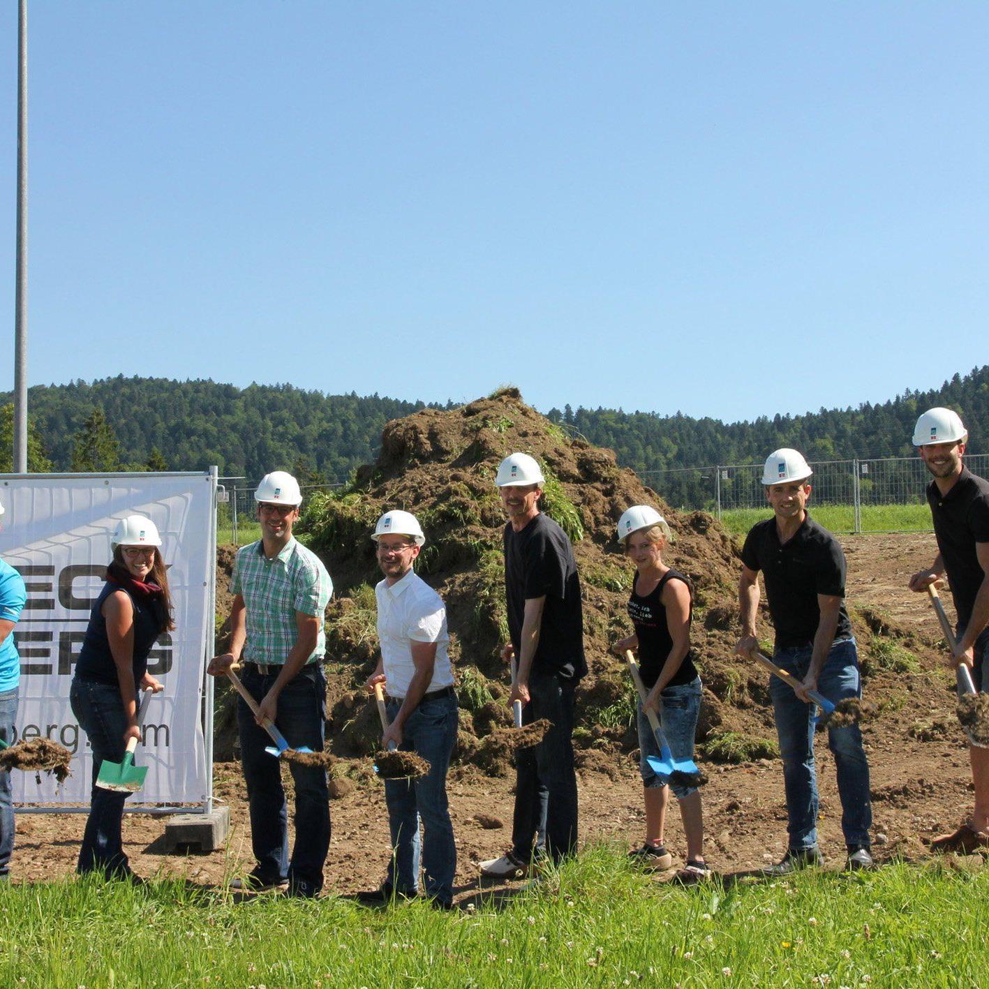 Der Baustart des gemeinsamen Projektes von Devich und Goldbeck Rhomberg ist schon mal gelungen.