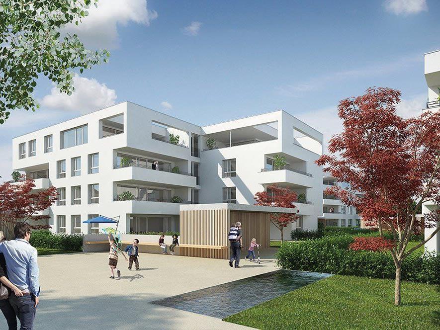 ZIMA und i+R Wohnbau luden zum Spatenstich am ehemaligen Wolff-Areal