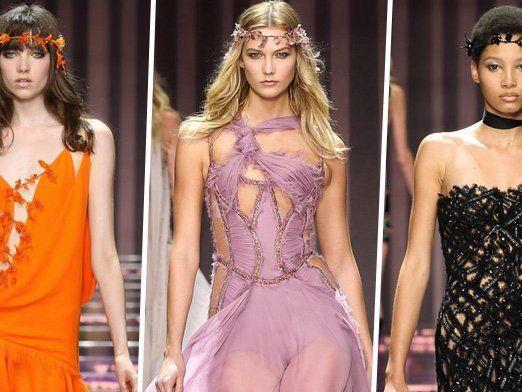 Wunderschöne und fantasievolle Kreationen von Donatella Versace.