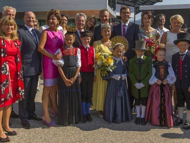 70. Bregenzer Festspiele von Bundespräsident Fischer feierlich eröffnet.