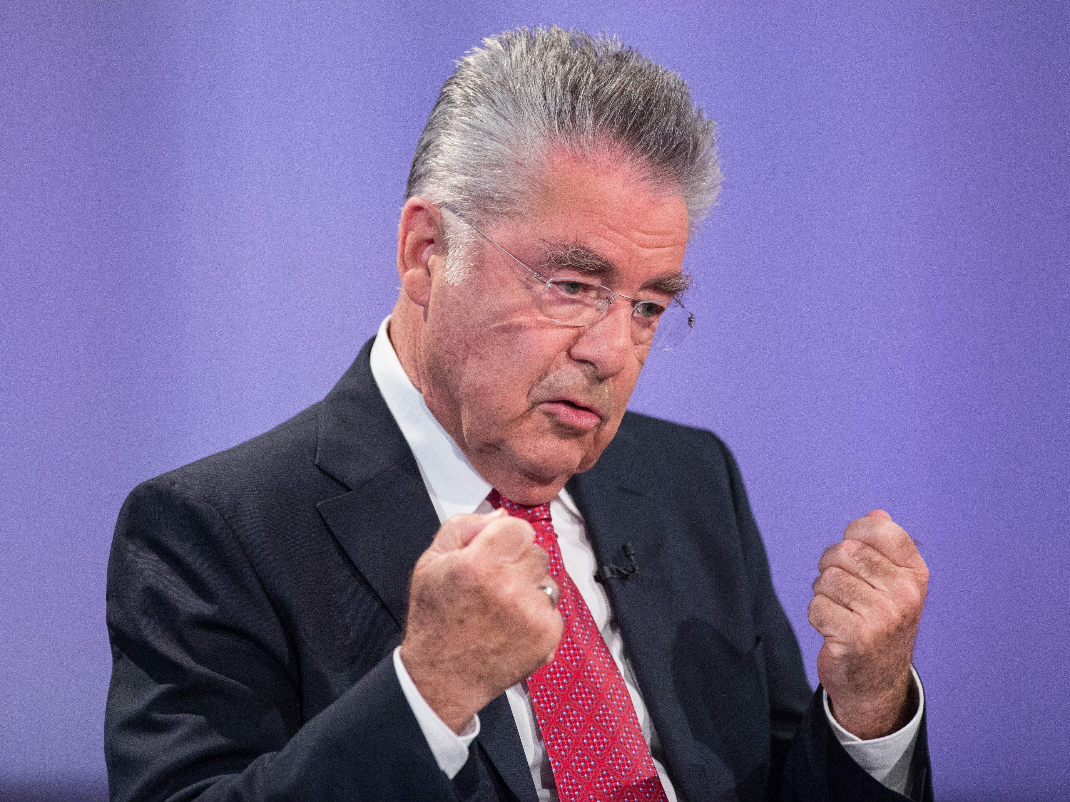 Glaubt fest daran, dass die aktuelle Koalition hält: Bundespräsident Heinz Fischer.