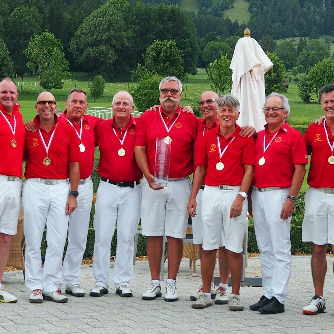 GC Rankweil/Montfort holte sich den landesweiten Mannschaftsbewerb der Herren