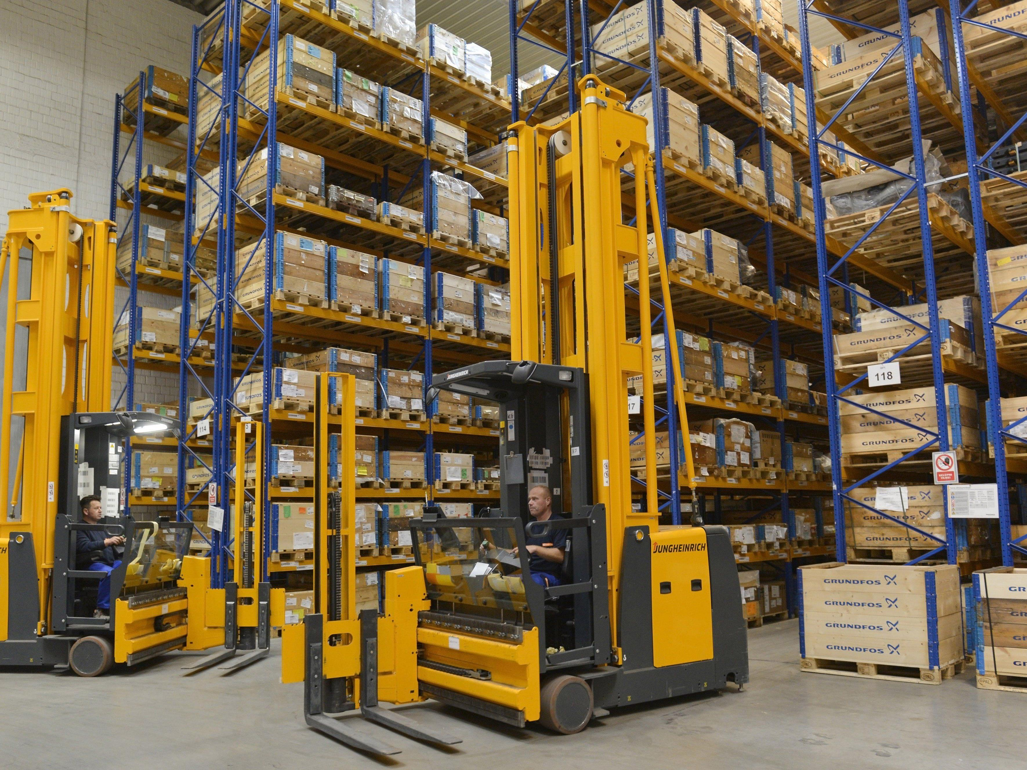 Das Logistikterminal wurde von Gebrüder Weiss individuell auf die Bedürfnisse von Grundfos abgestimmt.