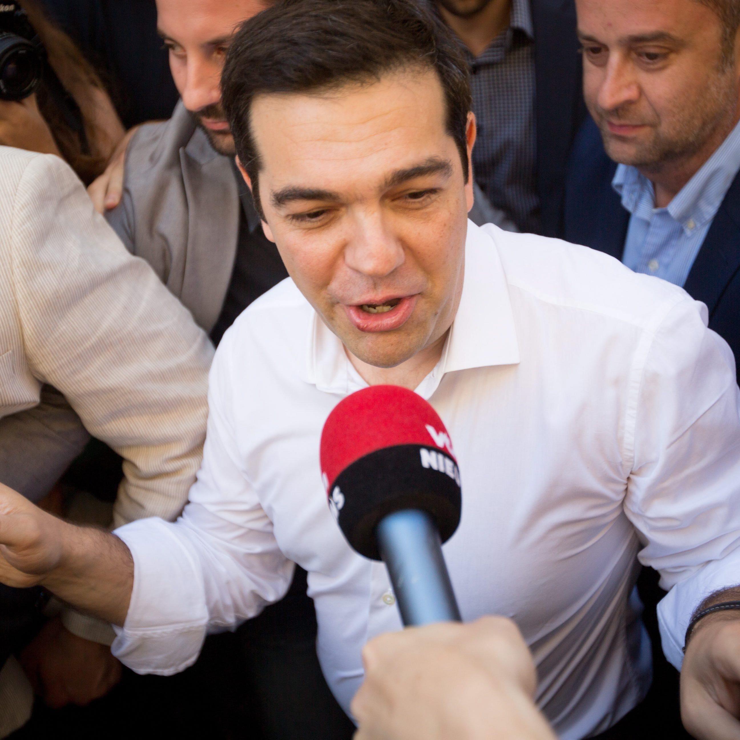 Triumph für Tsipras.