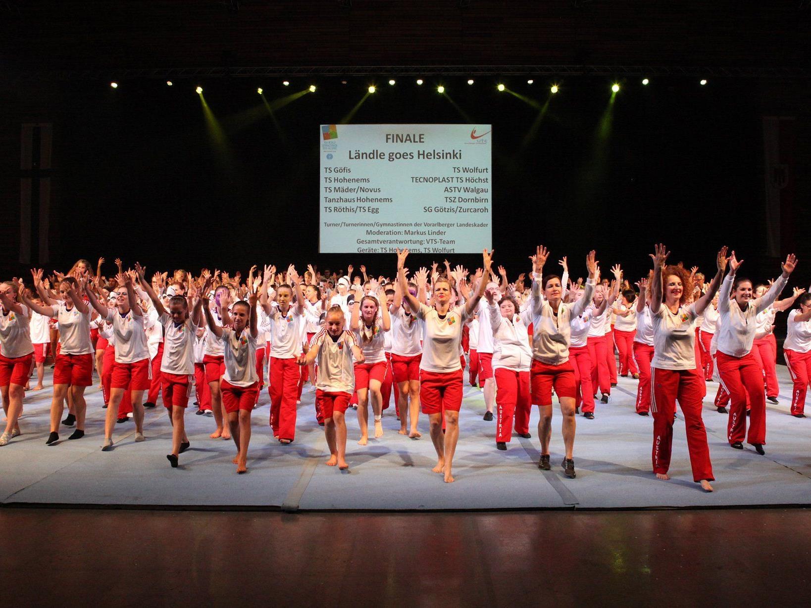 Vorarlberg stellt mit elf Vereinen und 345 Aktiven die meisten Teilnehmer.