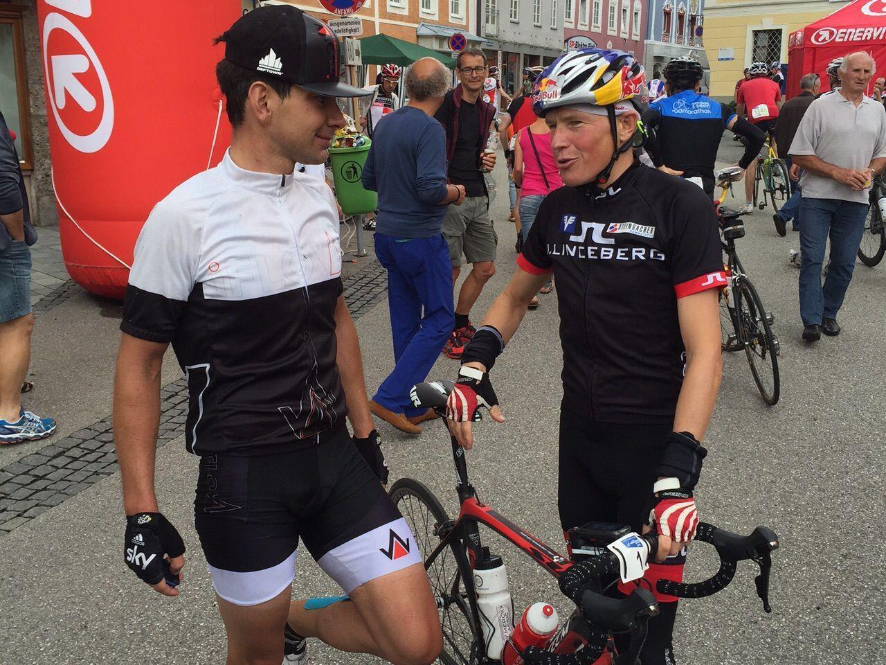 Marco Klement (links) mit Andi Goldberger.