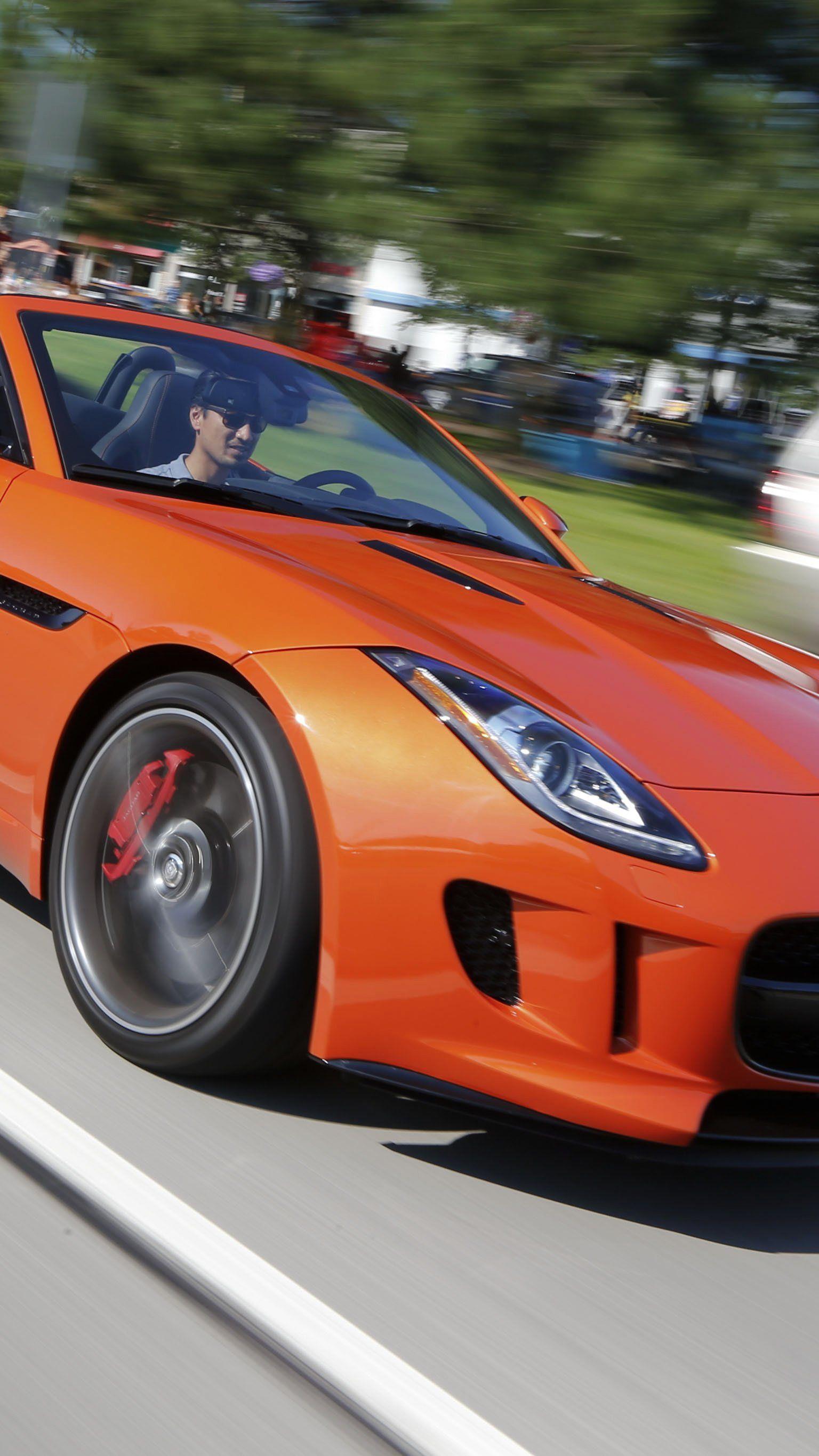 Der Jaguar F-Type.