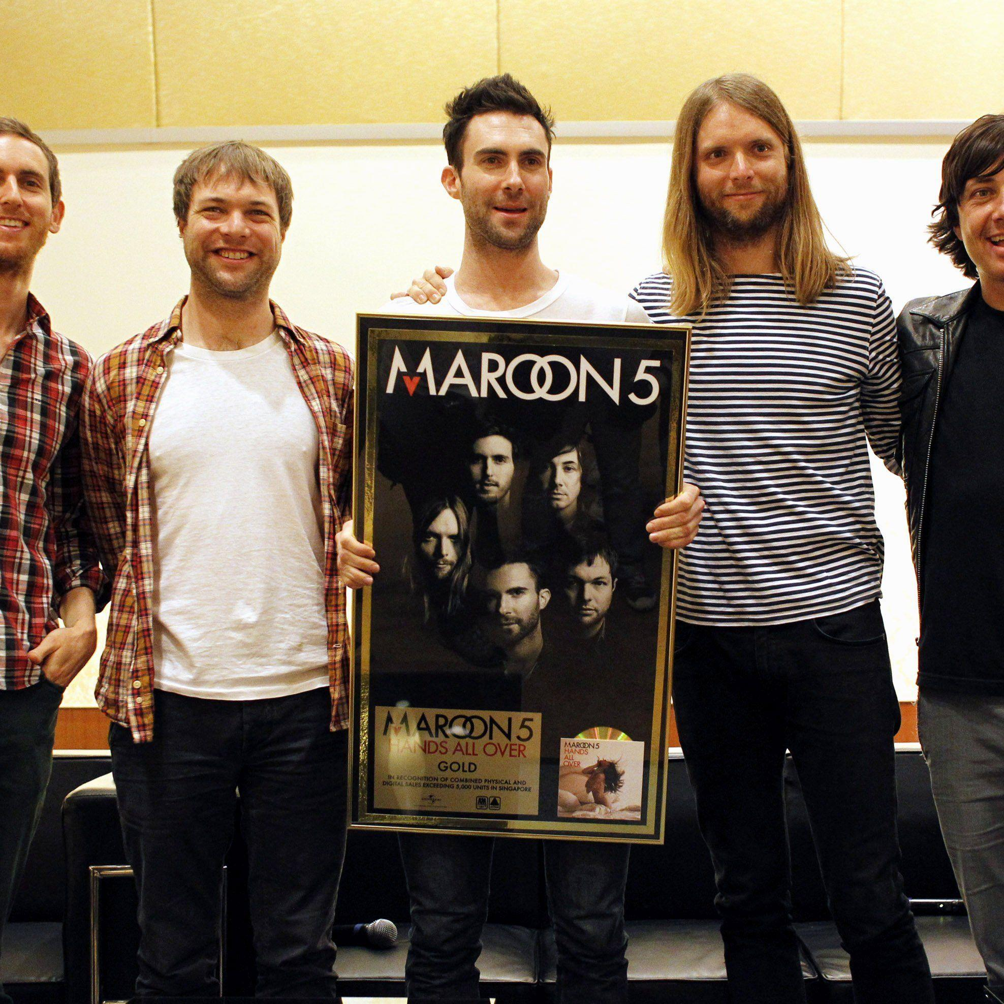 Konzert von US-Popgruppe Maroon 5 in Shanghai abgesagt