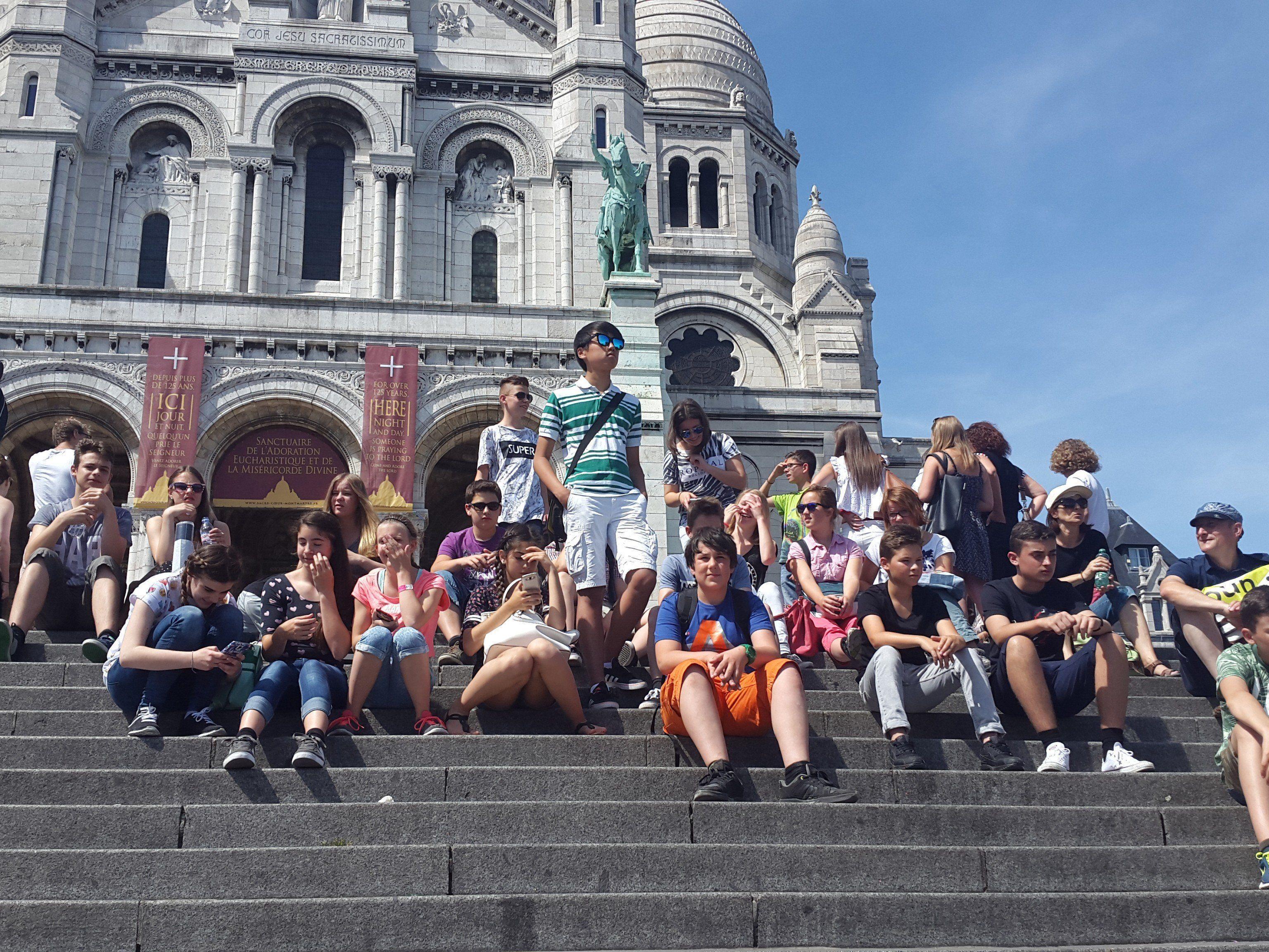 Unvergessliche Tage in Paris