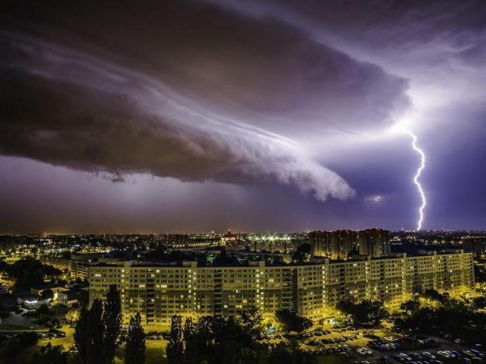 Heftige Unwetter haben Polen heimgesucht.