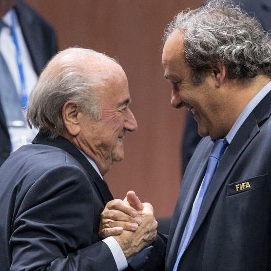 Michel Platini will Sepp Blatter als Präsident nachfolgen.