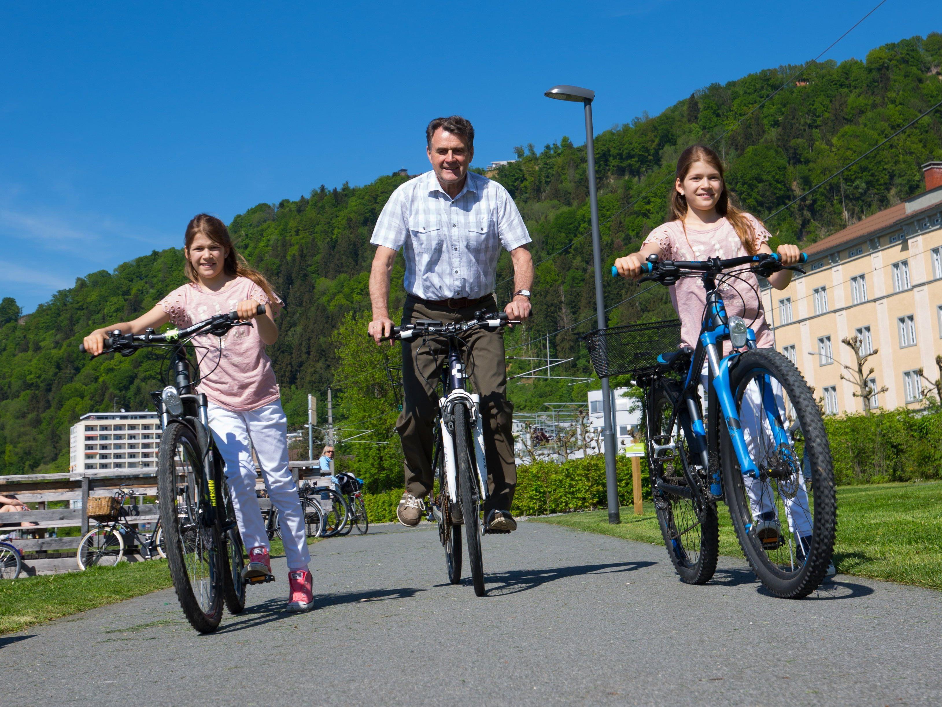 Radfahrer empfinden Vorarlberg als freundliches Pflaster. (Themenbild)