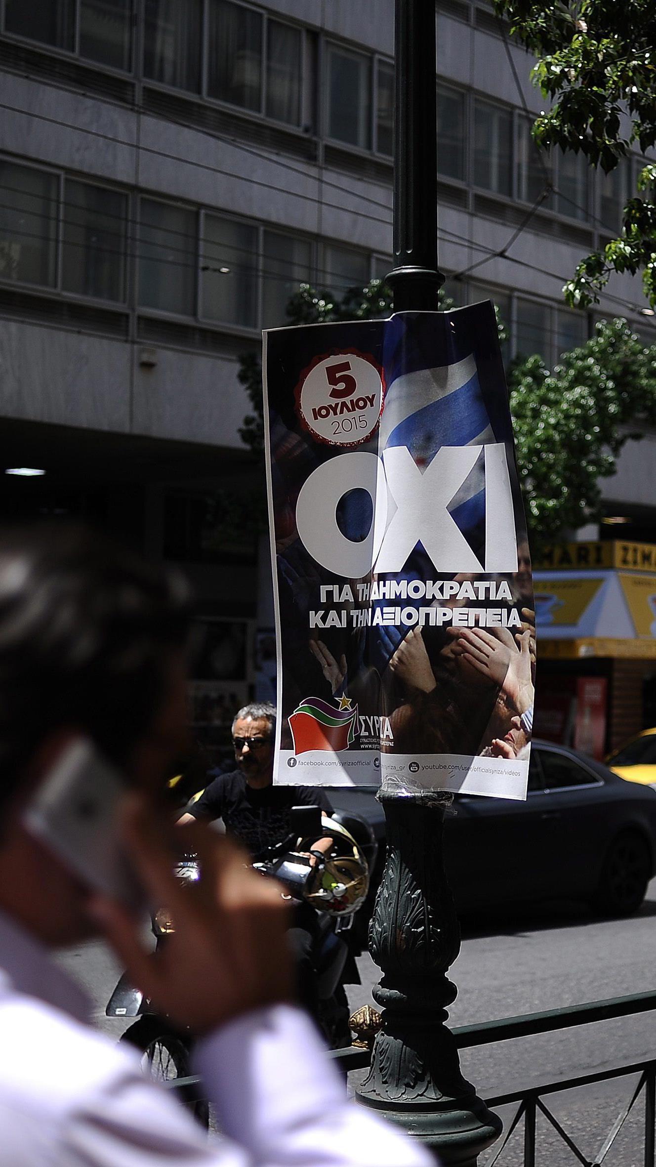 47,1 Prozent für Ja - Varoufakis schließt Rücktritt der Regierung nicht aus.
