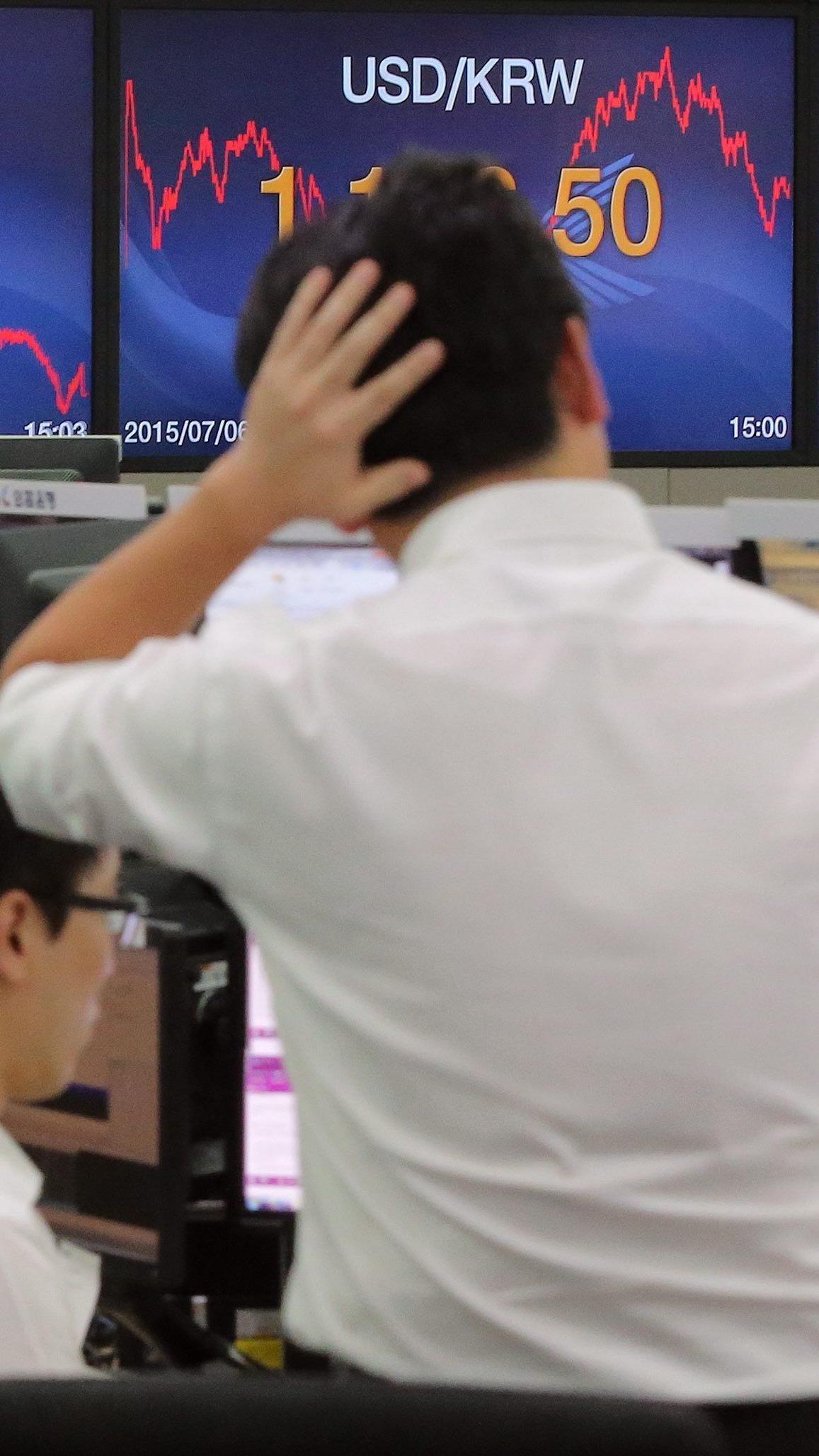 An den Finanzmärkten erholte sich der Eurokurs rasch von ersten Abschlägen am Morgen nach dem Referendum.