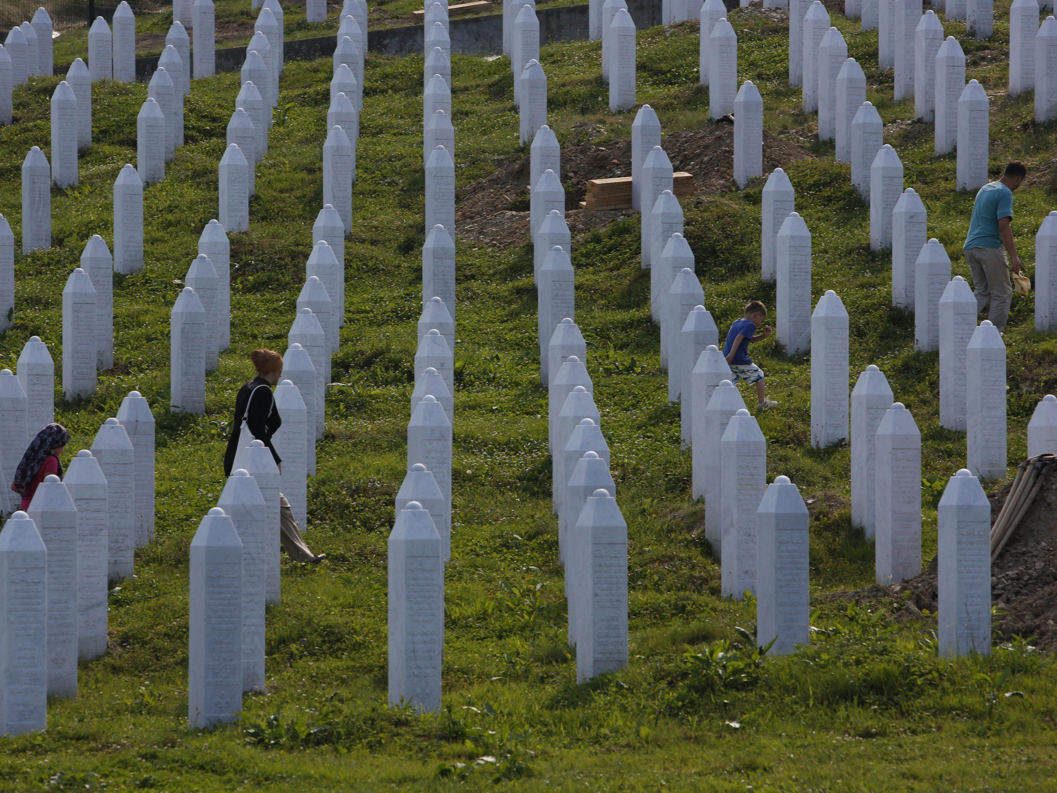 Am 11. Juli sollen in Potocari weitere 135 Opfer beigesetzt werden.