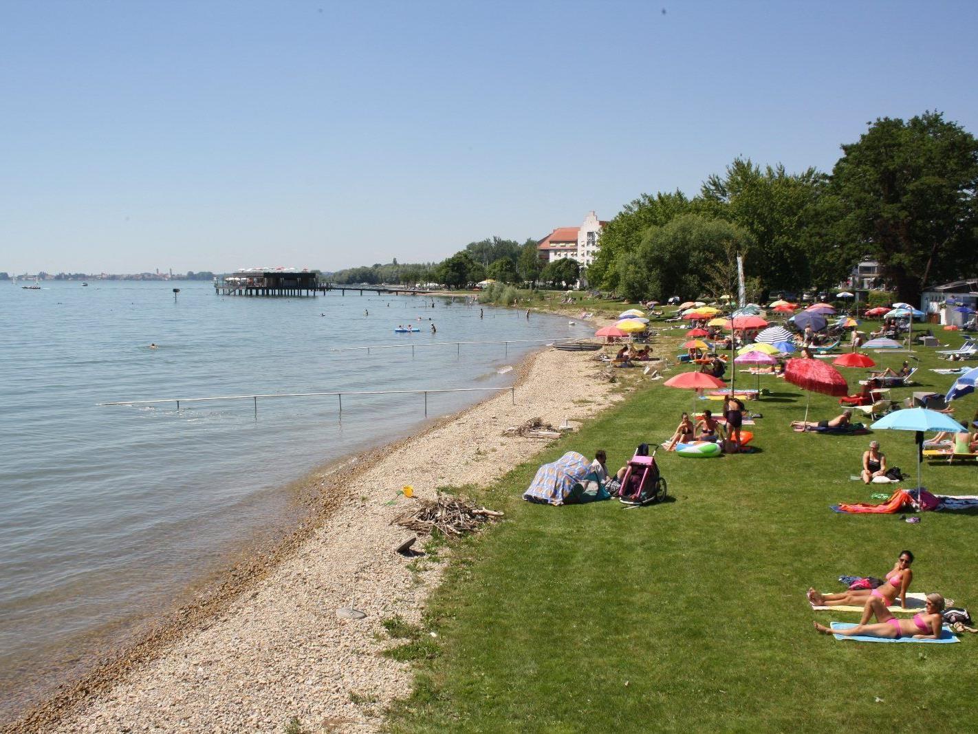 Badeunfall beim Lochauer Strandbad