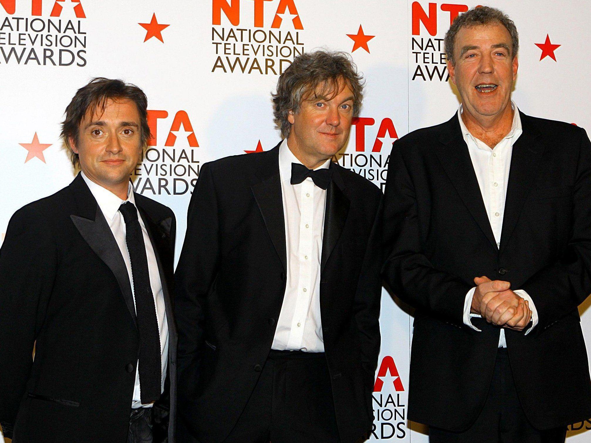 Richard Hammond, James May und Jeremy Clarkson haben den Vertrag unterschrieben