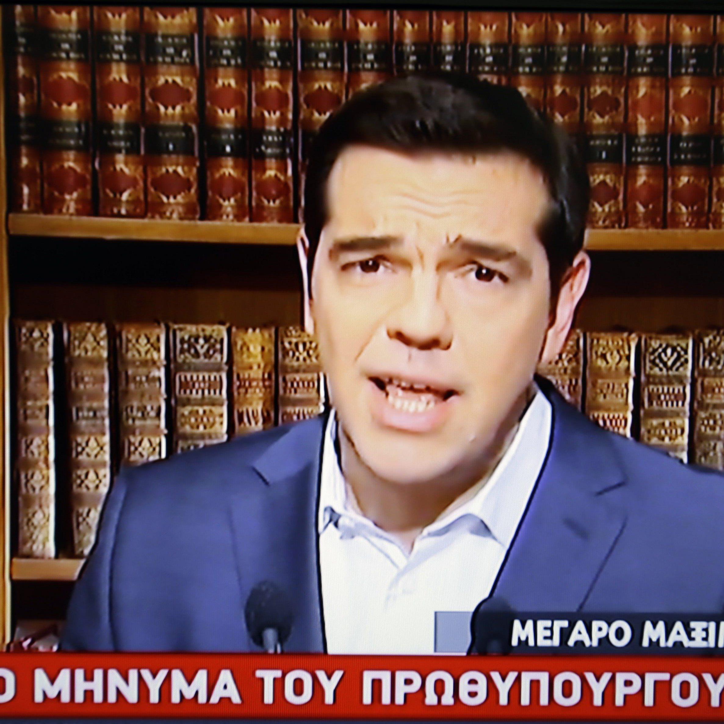 """Tsipras: Es bleibt beim """"Nein""""."""
