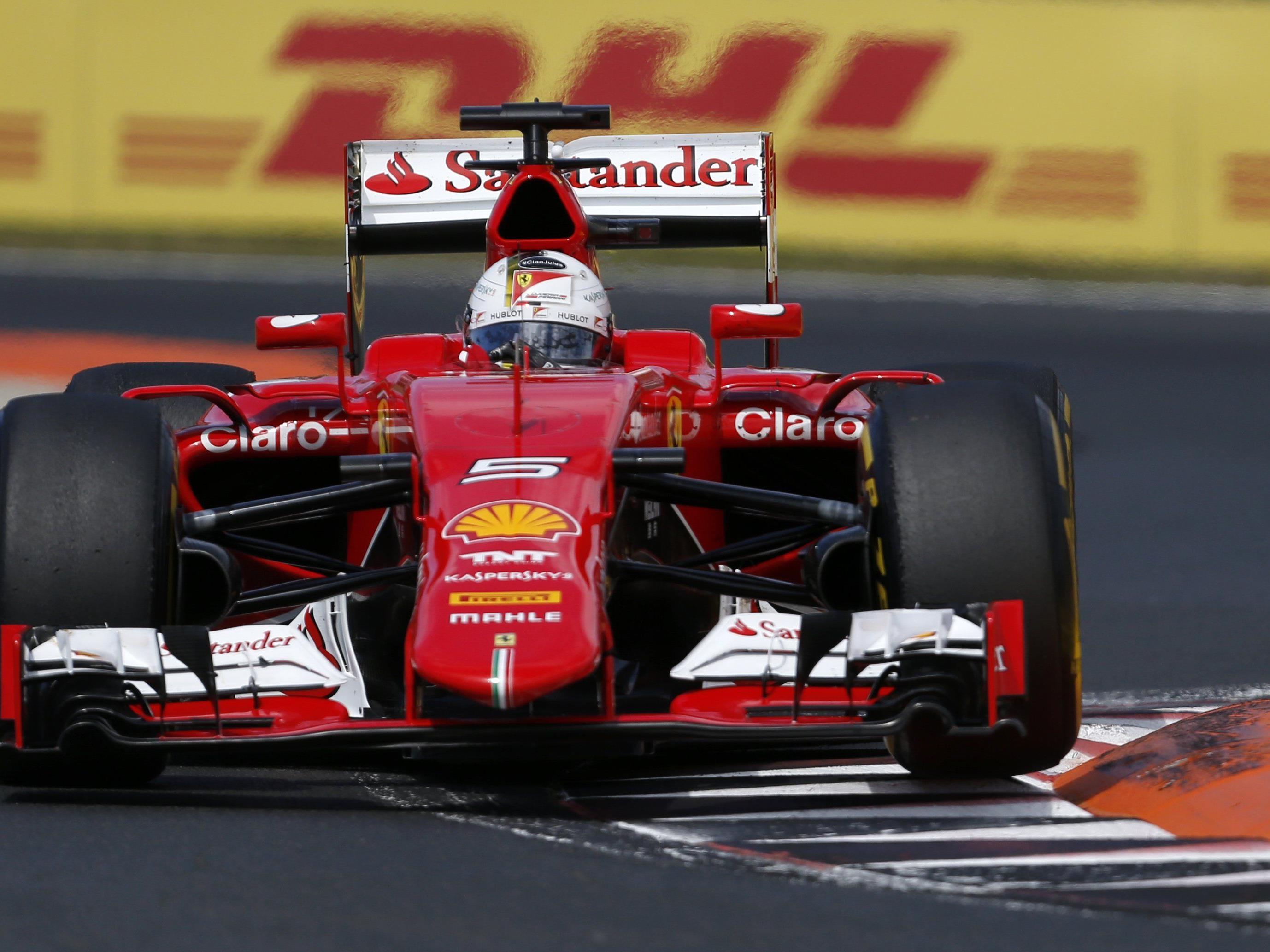 Vettel gewann Ungarn-GP vor Kwjat und Ricciardo.