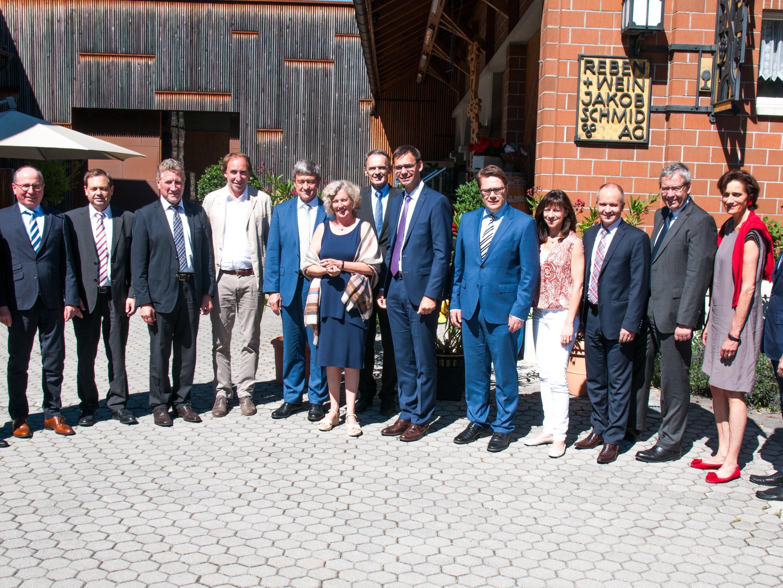 Regierungen von Vorarlberg und St.Gallen trafen sich zum Arbeitsgespräch