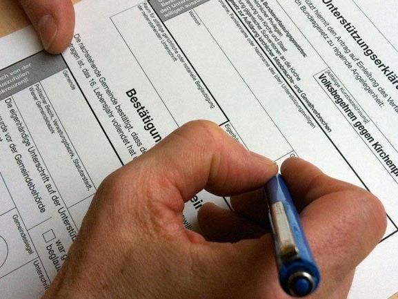Volksabstimmung ab 250.000 Unterschriften: Auch für Österreich umsetzen?