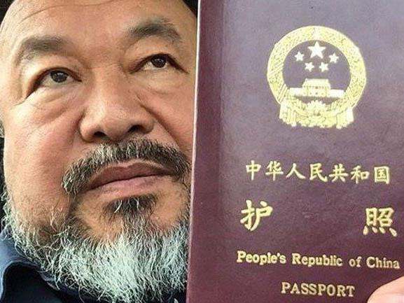 Chinesischer Künstler hatte erst kürzlich Pass zurückbekommen.