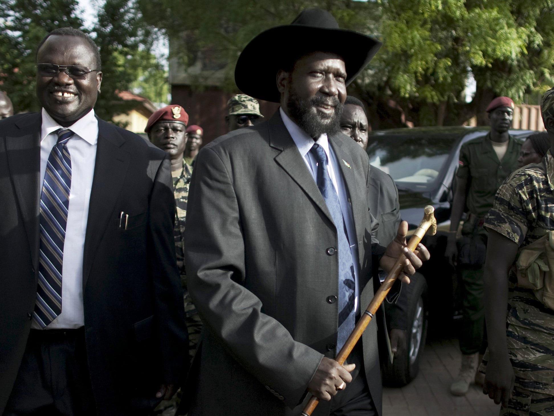 2013 eskalierte ein Machtkampf zwischen Rieck Machar und Salva Kiir.