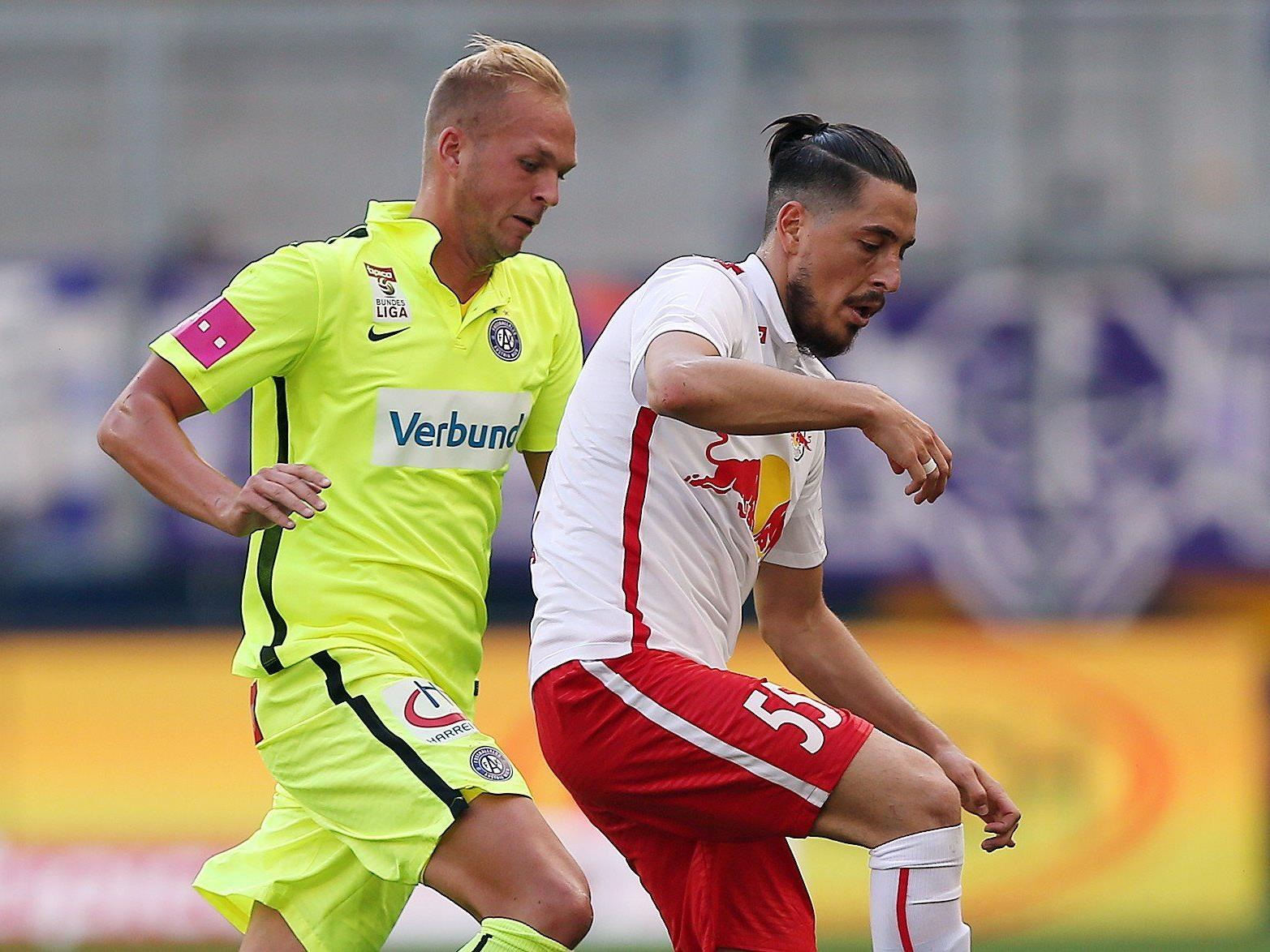 Yasin Pehlivan (r.) hat mit Red Bull Salzburg noch viel vor.